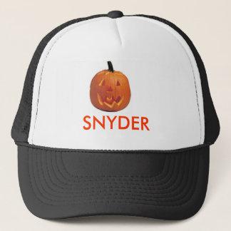 SNYDER PUMPKIN TRUCKING CAP