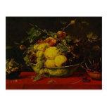 Snyders-Frutas de Francisco en un cuenco en un man Postal
