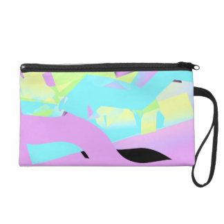 So 80s Bagette in Pastels Wristlet Purse