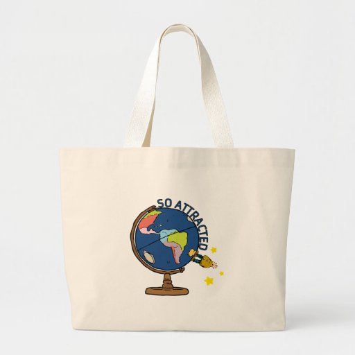 So Attracted Tote Bags