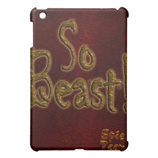 So Beast iPad Case