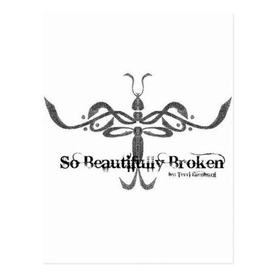 So Beautifully Broken Logo Postcard