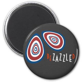 So BeZAZZLEd Magnet