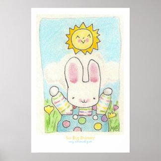 So Big Bunny Poster