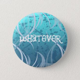 So Blue Whatever Punk Button