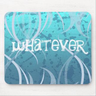 So Blue Whatever Punk Mousepad