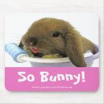So Bunny! Mousepad- Pink
