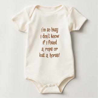 So Busy! Baby Bodysuit