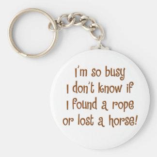 So Busy! Keychain