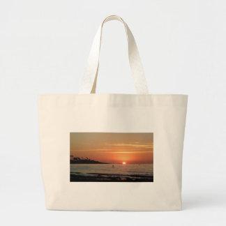 So Cal Sunset Jumbo Tote Bag