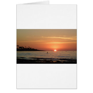 So Cal Sunset Greeting Cards