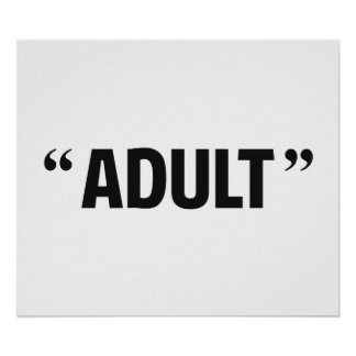 So Called Adult Quotation Marks Print