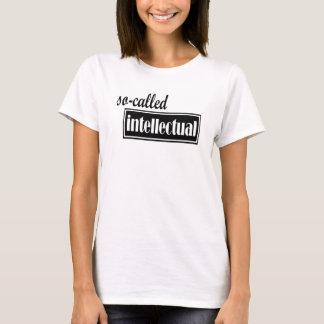 So-called Intellectual - Black Design T-Shirt