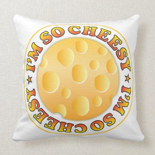 So Cheesy Pillows