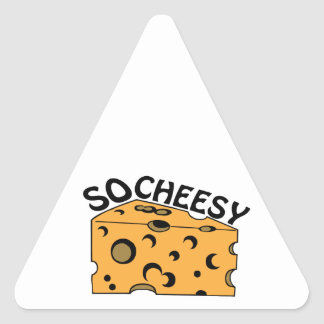 So Cheesy Sticker