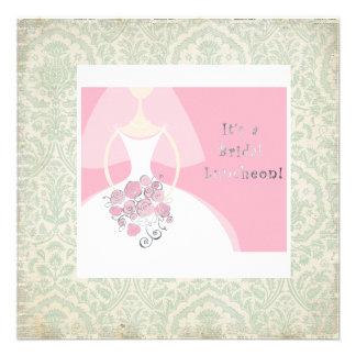So Chic Bridal Luncheon invitation