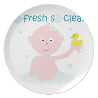 So Clean Dinner Plate