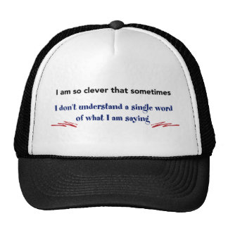 so clever trucker hat