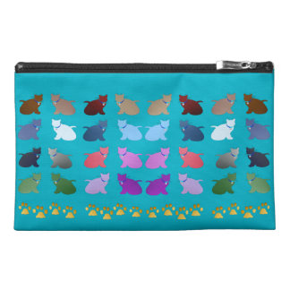 So Colorful My Kittiy Travel Accessory Bags