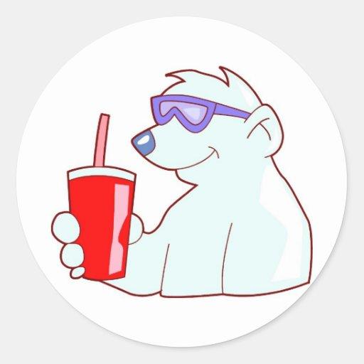 So Cool He is Frozen Sticker