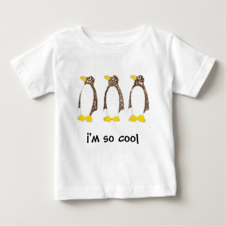 So Cool Penguin Tee