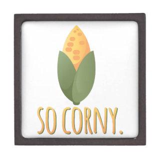 So Corny Keepsake Box