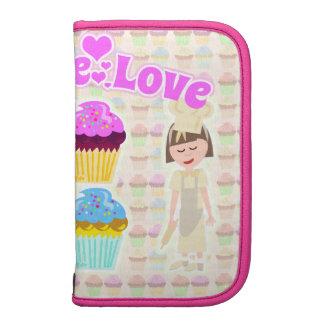 So Cute Cupcake Love Too Folio Planner