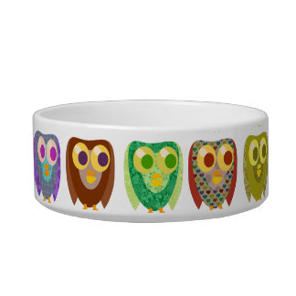 So Cute Fun Owls Bowl
