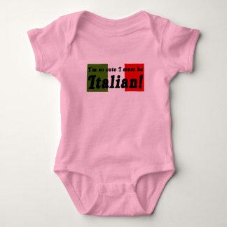 So Cute I Must Be Italian Infant Shirt