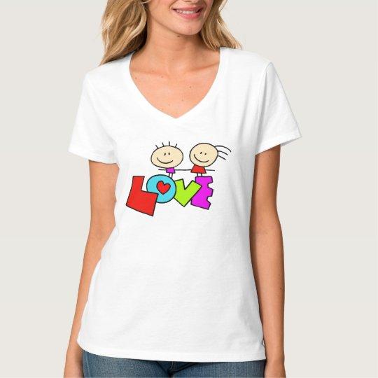 So Cute Love Design T-shirt