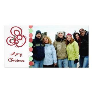 So Cute Merry Christmas Mouse Card