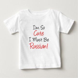 So Cute Must Be Russian Baby T-Shirt