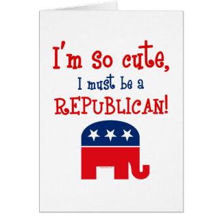 So Cute Republican Card