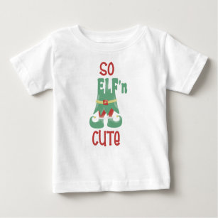 3a38163e4 Funny Christmas Sayings Baby Tops & T-Shirts | Zazzle