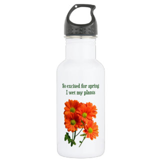 So excited for spring I wet my plants Water Bottle