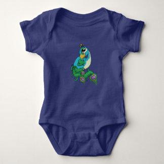 So Fancy! Peacock Baby Bodysuit