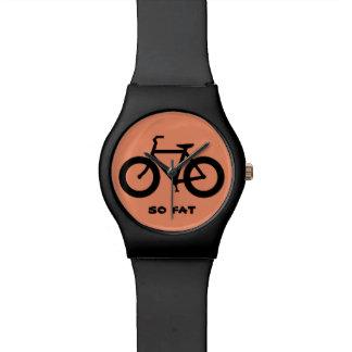 (So) Fat Bike Wristwatch