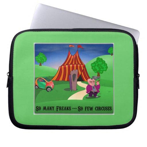 So Few Circuses... Laptop Sleeve
