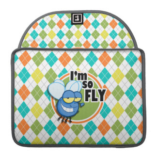 So Fly!  Colorful Argyle Pattern Sleeve For MacBooks