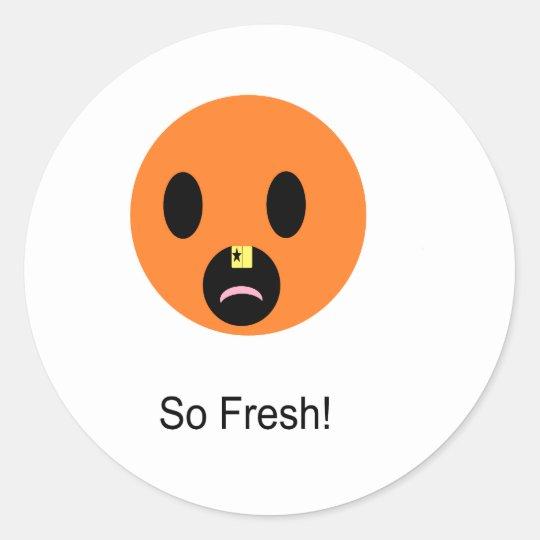So Fresh Classic Round Sticker