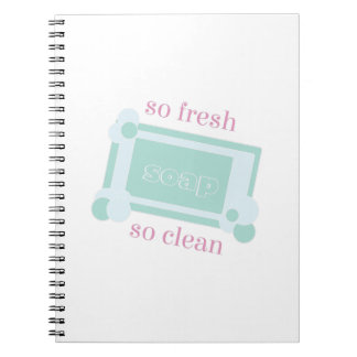So Fresh Spiral Notebook