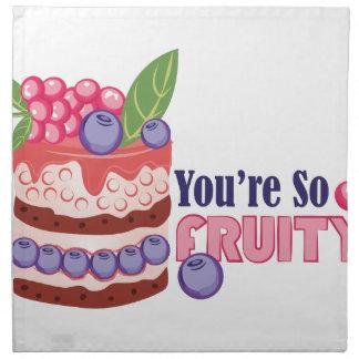 So Fruity Napkin