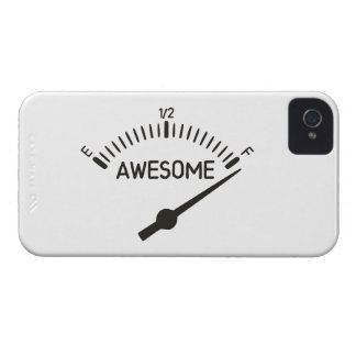 So Full of Awesome Gauge iPhone 4 Cases
