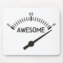 So Full of Awesome Gauge Mouse Pad