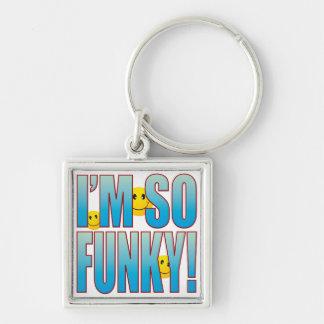 So Funky Life B Keychain