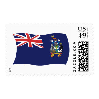 So Georgia And Sandwich Flag Stamps