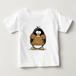 So glad I'm not a Turkey Penguin Baby T-Shirt
