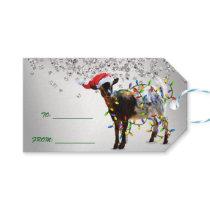 SO Good Christmas Goat Gift Tags