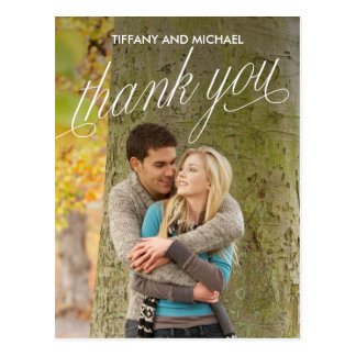So Grateful Photo Thank You Card