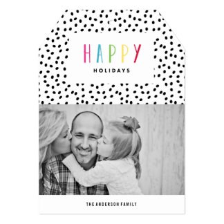 So Happy | Holiday Photo Card Announcement